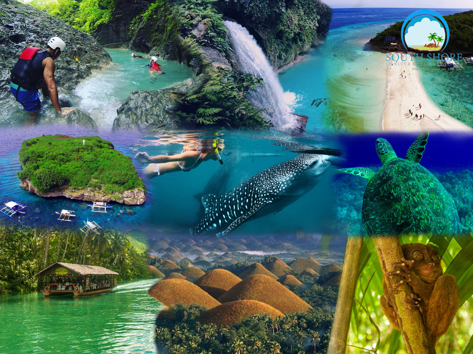 3D2N Cebu South + Bohol Countryside Tour