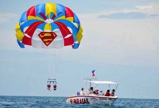 Cebu parasailing