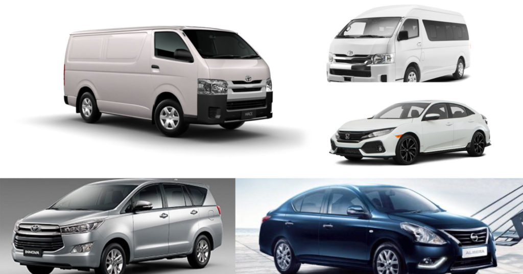 Van for Rent in Cebu City